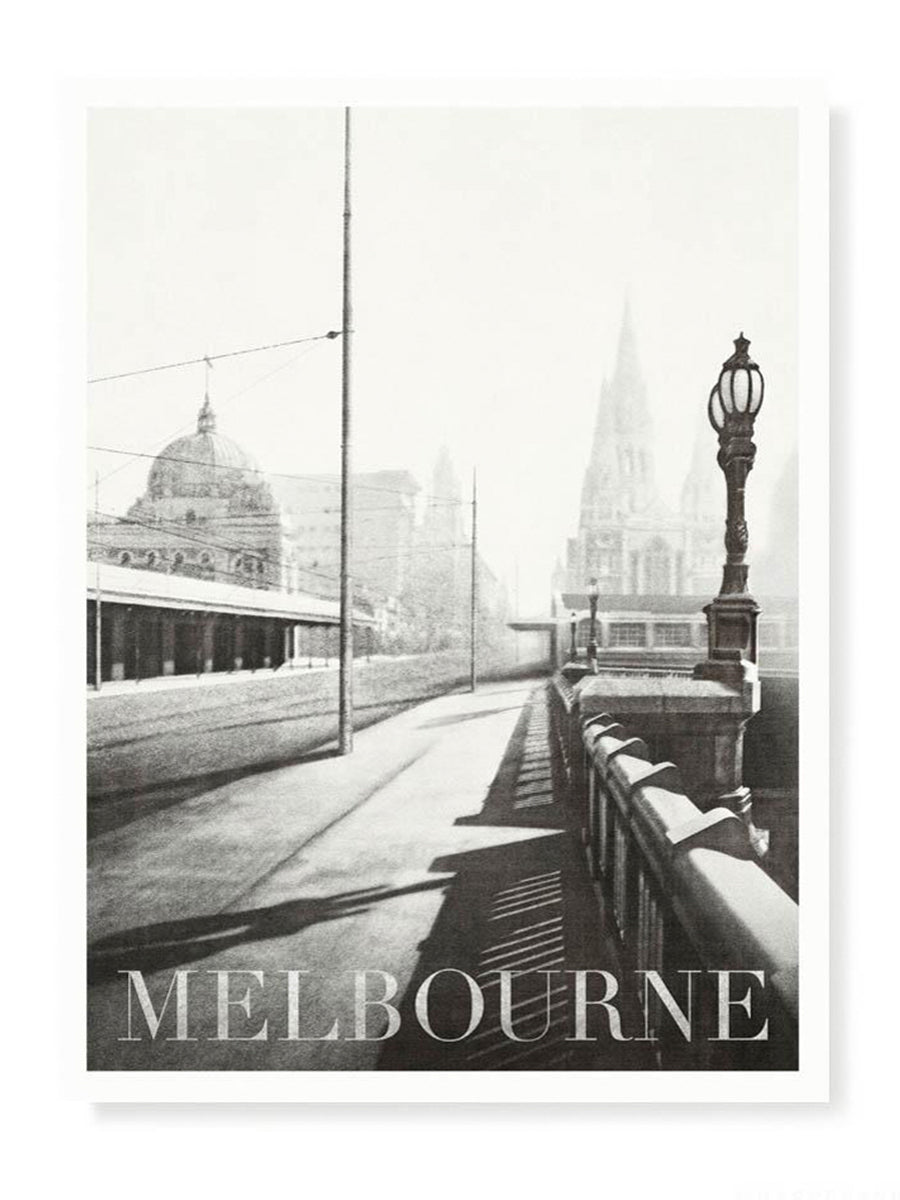 Princes Bridge Melbourne Print