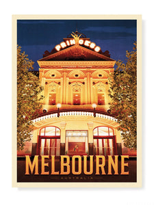 Princess Theatre Melbourne Print