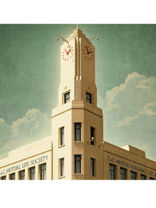 T & G Building, Geelong Print