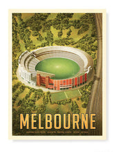Load image into Gallery viewer, MCG Melbourne Football Print