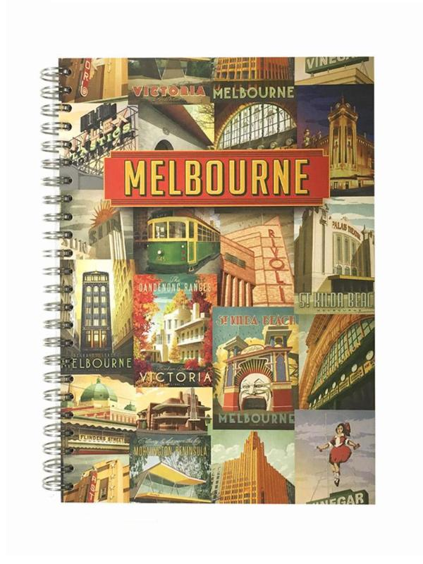 Iconic Melbourne Notebook