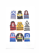 Load image into Gallery viewer, Fabric of Football A5 Monogrammed Print