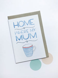 Mum Card by Ruby Mack