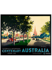 James Northfield St Kilda Rd Print, Iconically Australian