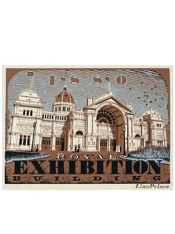Royal Exhibition Building Print