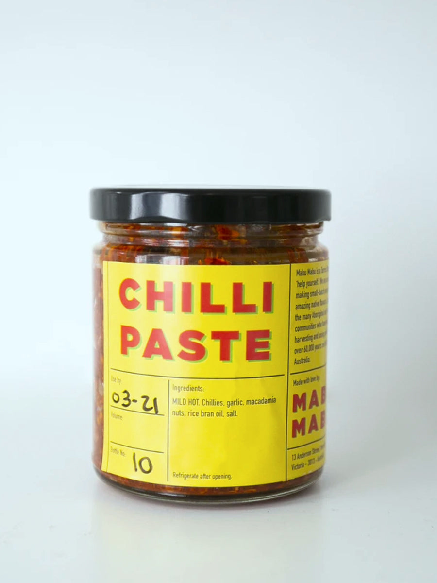 Chilli Paste with Macadamia Nuts