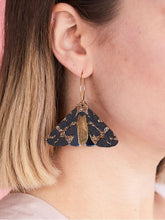 Load image into Gallery viewer, Moth Earrings Copper