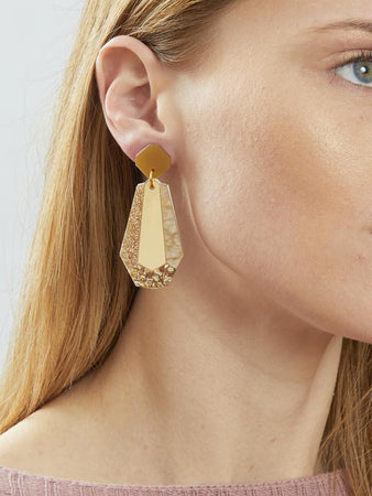 Reva Earrings Gold