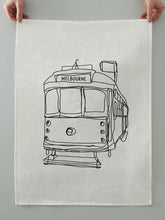 Load image into Gallery viewer, Melbourne Tram Tea Towel