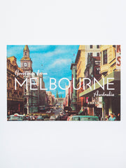 Greetings from Melbourne: Bourke St