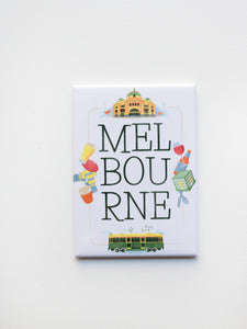 Melbourne Icons Magnet