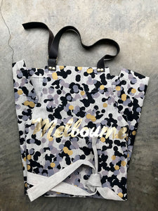 Tinker Confetti Leather Strap Melbourne Apron