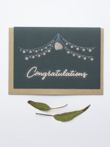 Congratulations Card by Ruby Mack