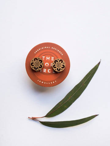 Campfire Stud Earrings