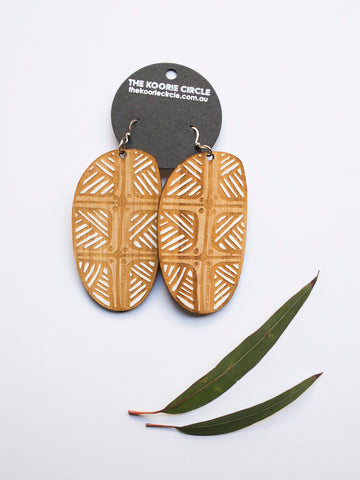 NAIDOC 2018 Coolamon Earrings