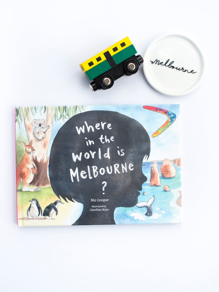 Where In The World Is Melbourne? by Nic Cooper, illustrated by Caroline Keys