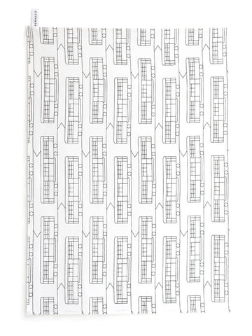 Trams Tea Towel