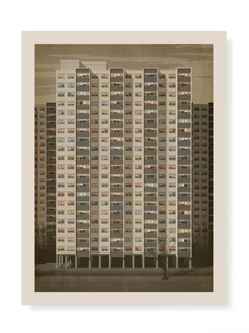 Commission Flats Collingwood Print