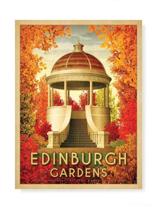 Edinburgh Gardens North Fitzroy Print