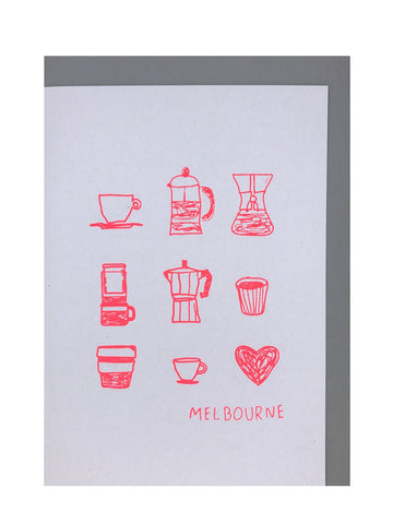 Large Melbourne Card
