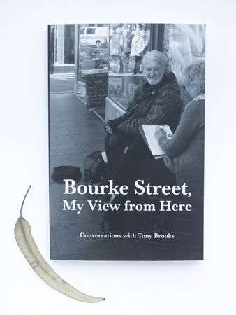Bourke Street, My View from Here, Conversations with Tony Brooks