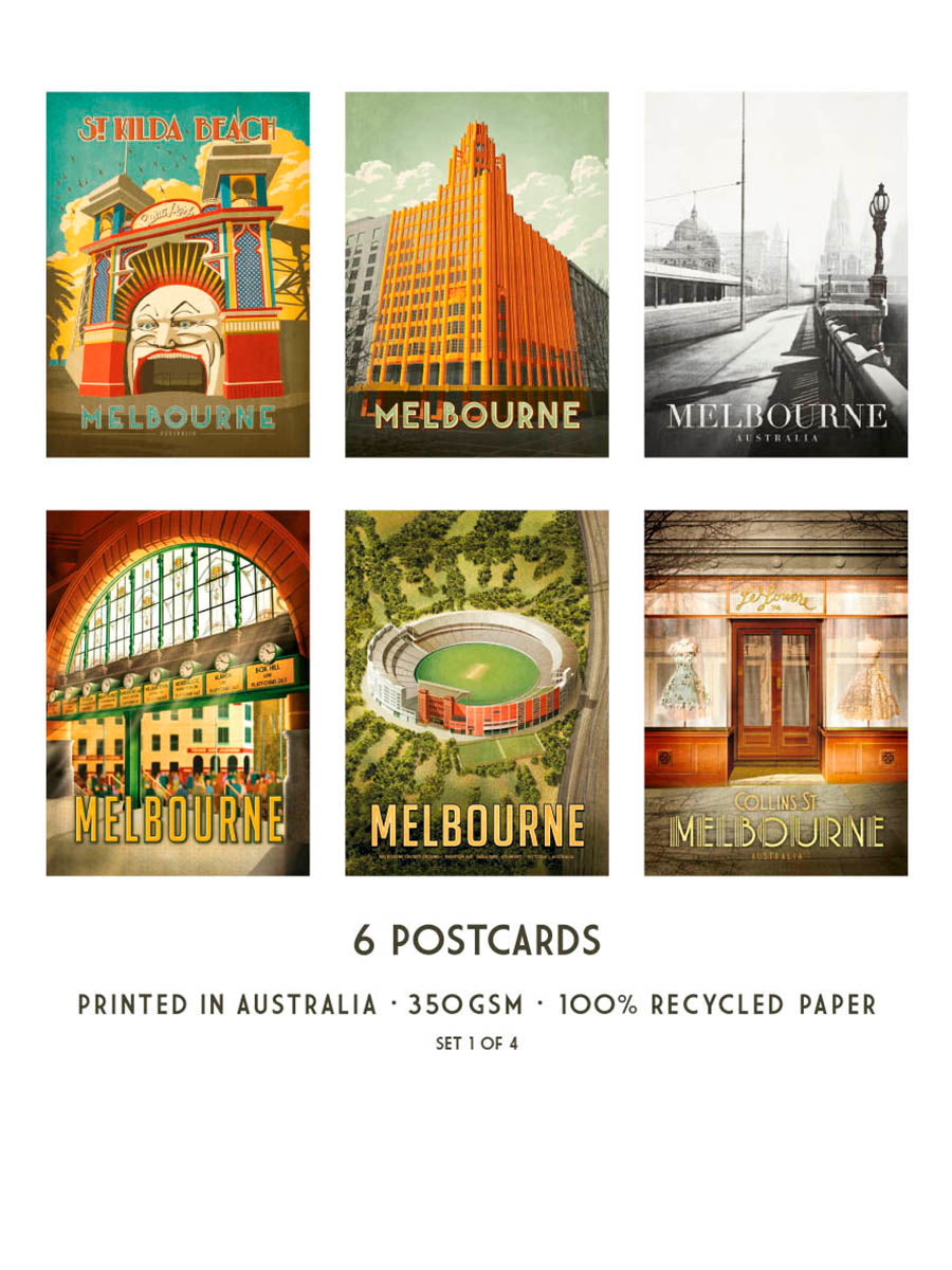 Harper and Charlie Postcard Pack of 6