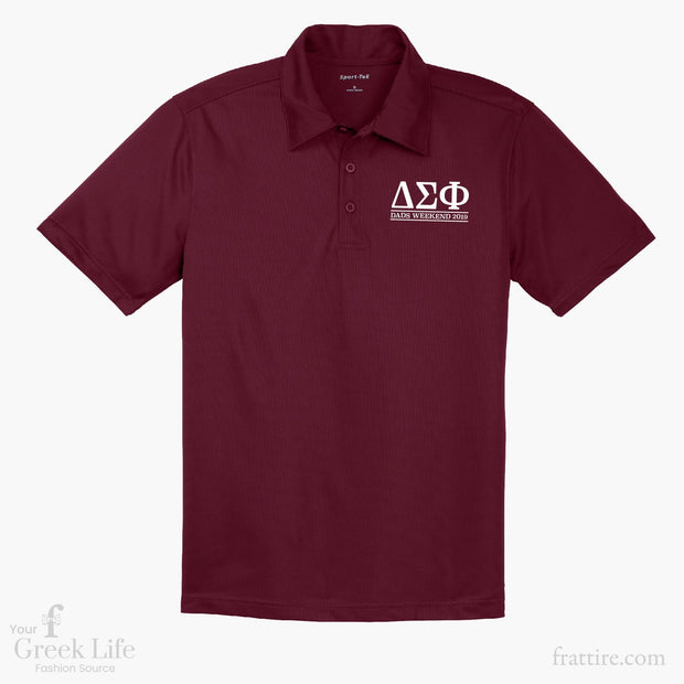 Delta Sigma Phi MU Dads Weekend Polos