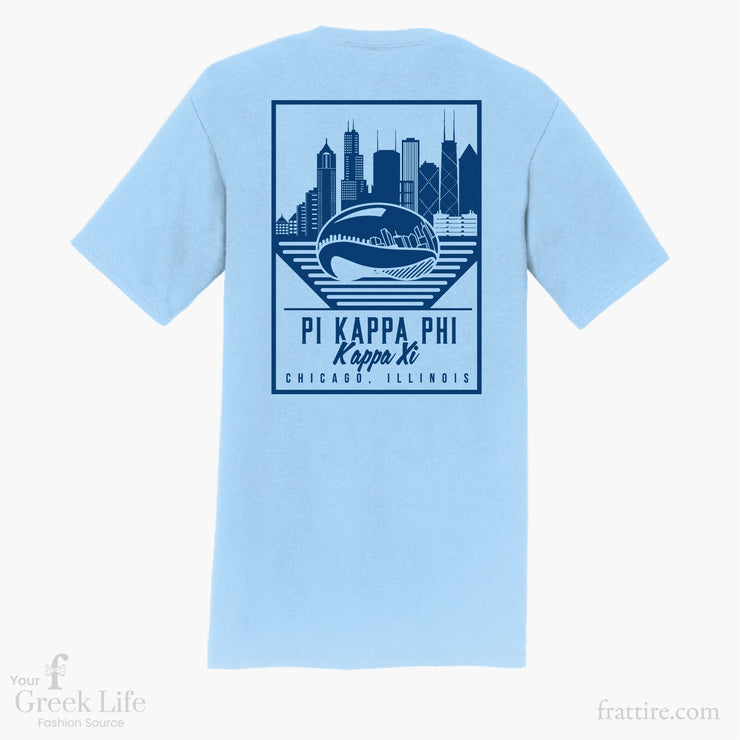 Pi Kappa Phi DU Chicago T-Shirts