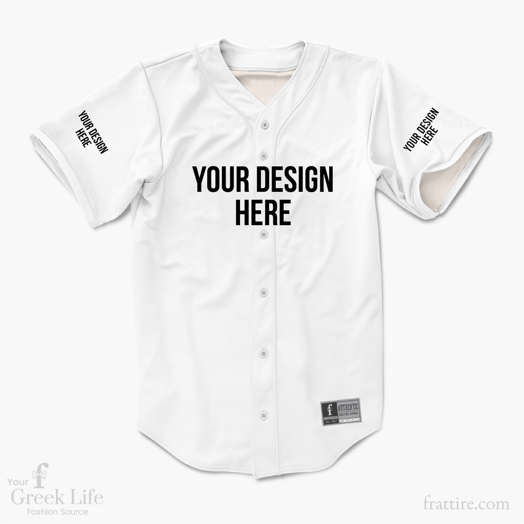 create your own baseball jersey