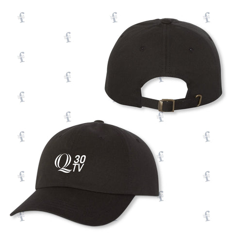 Q 30TV Embroidered Dad Hats