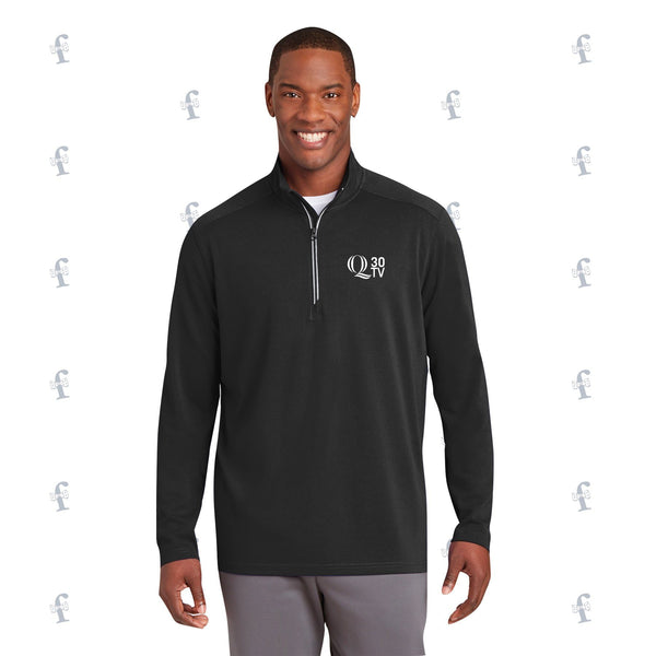 Q 30TV Embroidered Pullovers