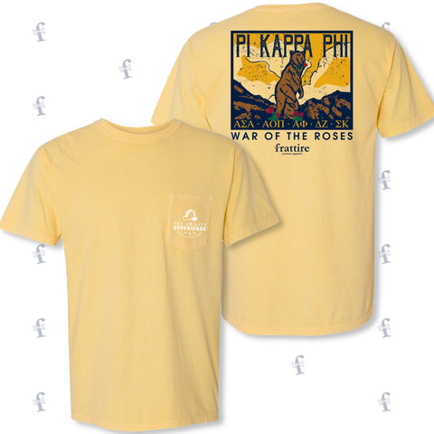 Pi Kappa Phi UNC War of the Roses Apparel