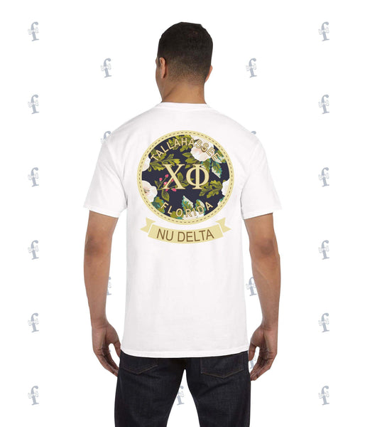 Chi Phi Floral Tee