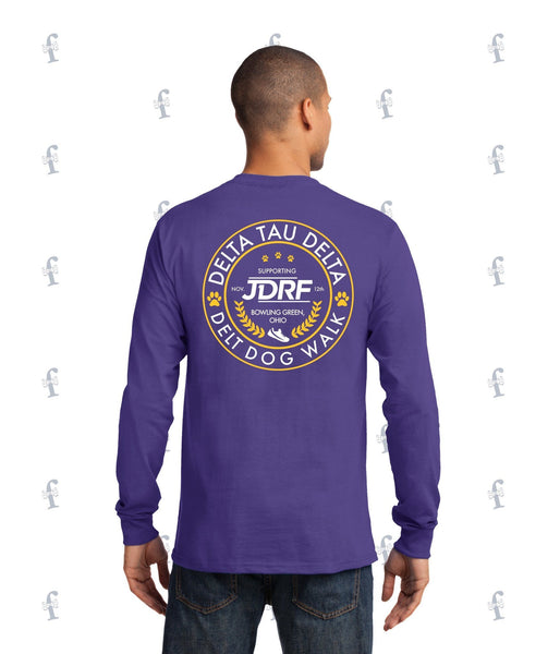Delt Dog Walk Long Sleeve Tee