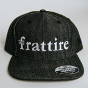 The Black Denim Snapback