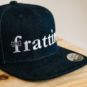 The Navy Denim Snapback