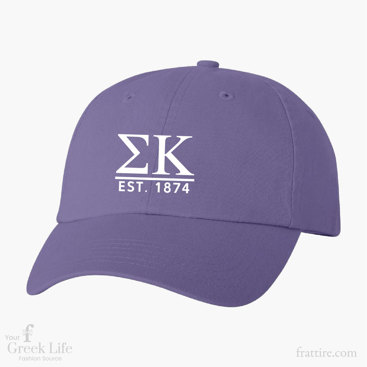 Sigma Kappa LRU Chapter Baseball Hats