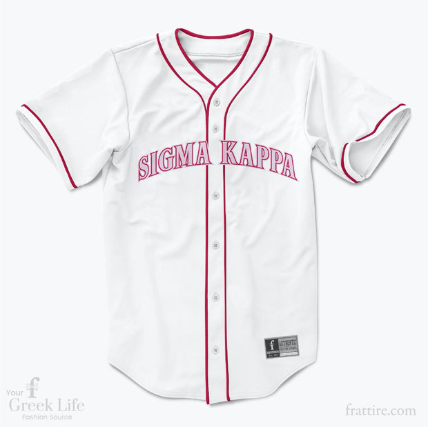 Custom Greek Baseball Jersey | Style 75