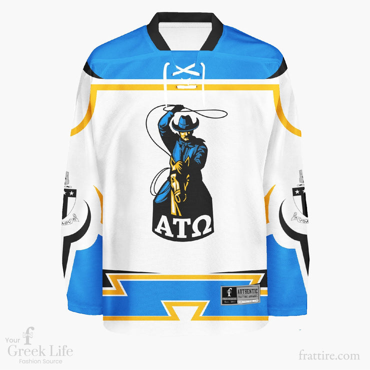 Alpha Tau Omega NMSU Hockey Jerseys