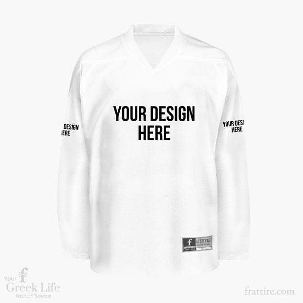 Build Your Own | V Neck Hockey Jersey