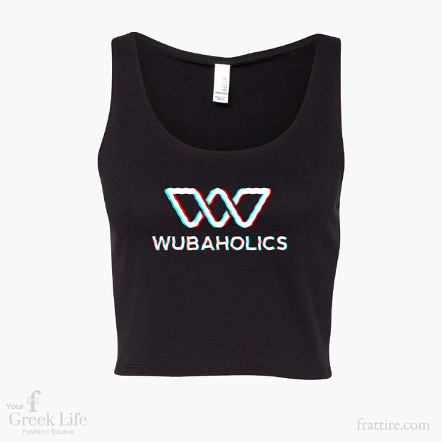 Wubaholics Ladies Crop Tank