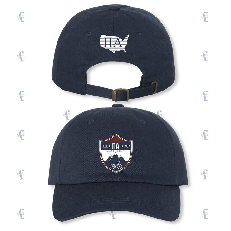 JOH North Pi Alpha Embroidered Hats