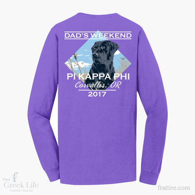 Pi Kappa Phi OSU Dads Weekend Long Sleeves