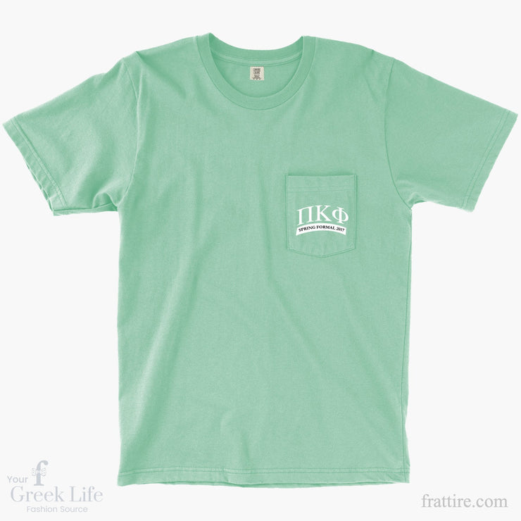 Pi Kappa Phi Spring Formal 2017 Pocket Tees