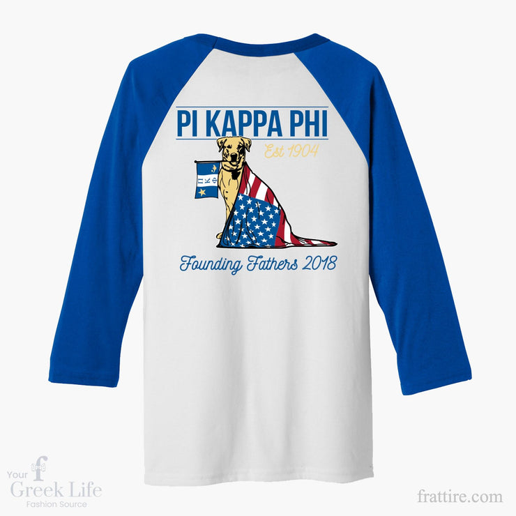 Pi Kappa Phi Founders Day Baseball Tee