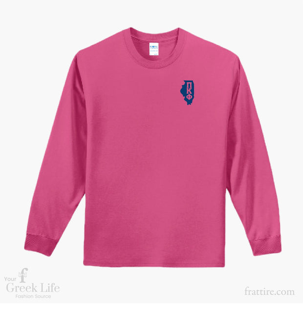Pi Kappa Phi DU Chicago Long Sleeves