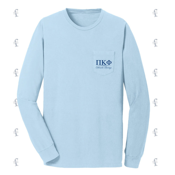 Pi Kappa Phi Puppy Spring Rush Long Sleeves