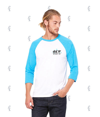 Phi Kappa Psi Hitting the Slopes Baseball Tee