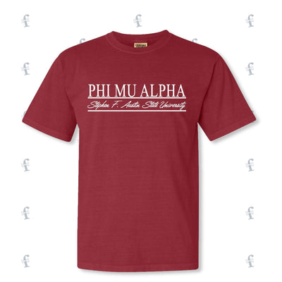 Phi Mu Alpha Fall Rush Shirts