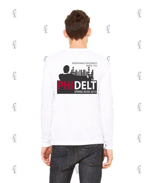 Phi Delta Theta Mad Men Spring Rush Long Sleeve